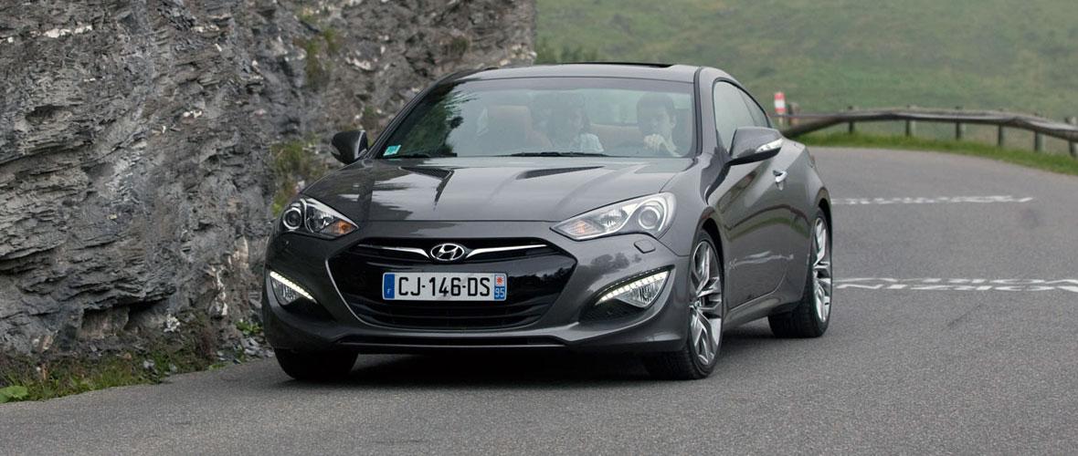 Essai Hyundai Genesis Coupé : Hyundai style