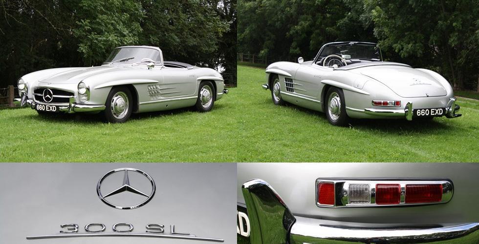 Commissaire-priseur : Mercedes-Benz 300 SL Roadster