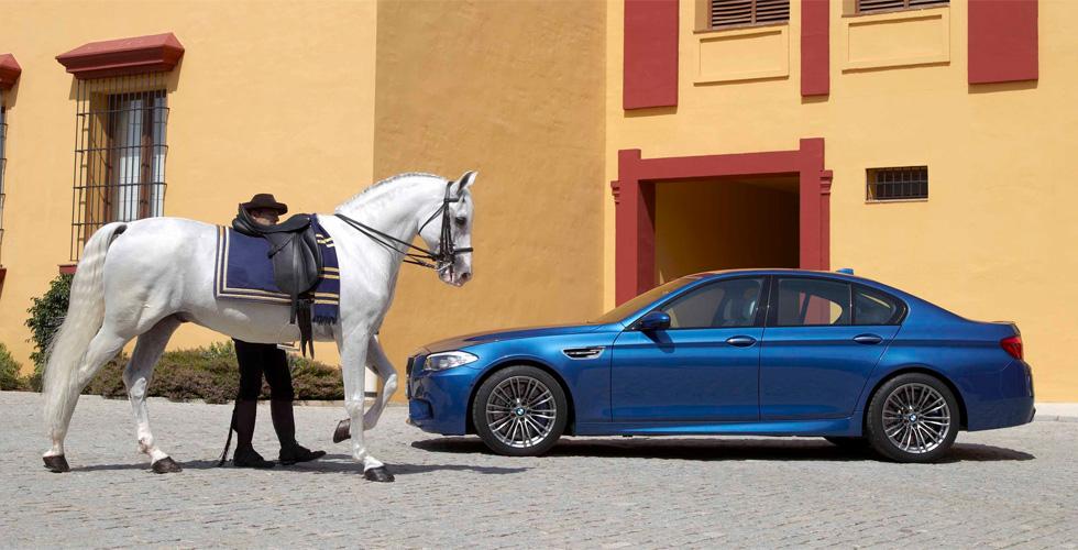 Vu : BMW M5
