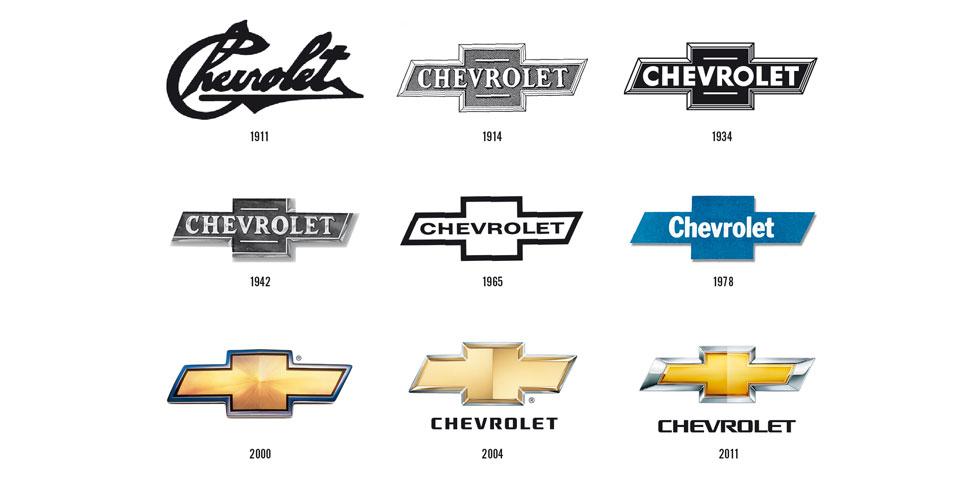Neuf logos pour un siècle de Chevrolet