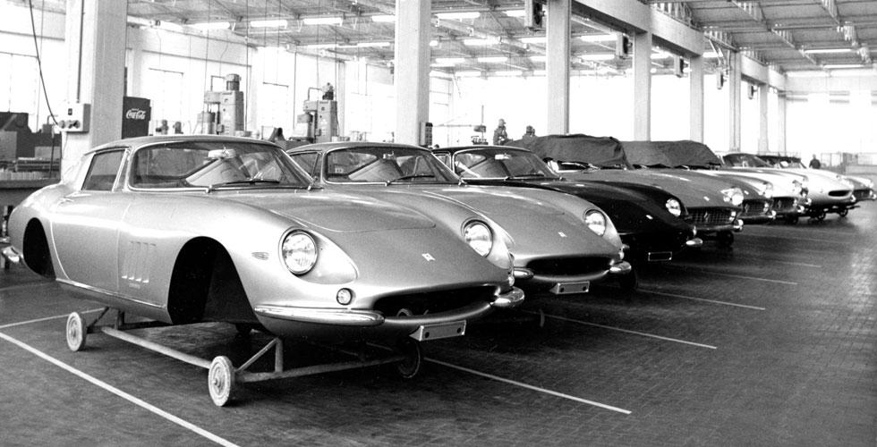 Culte : la fabbrica en 1966