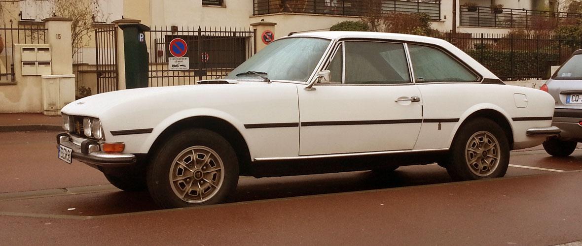 Vu : Peugeot 504 Coupé