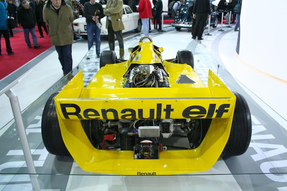 Retromobile : visite du stand Renault