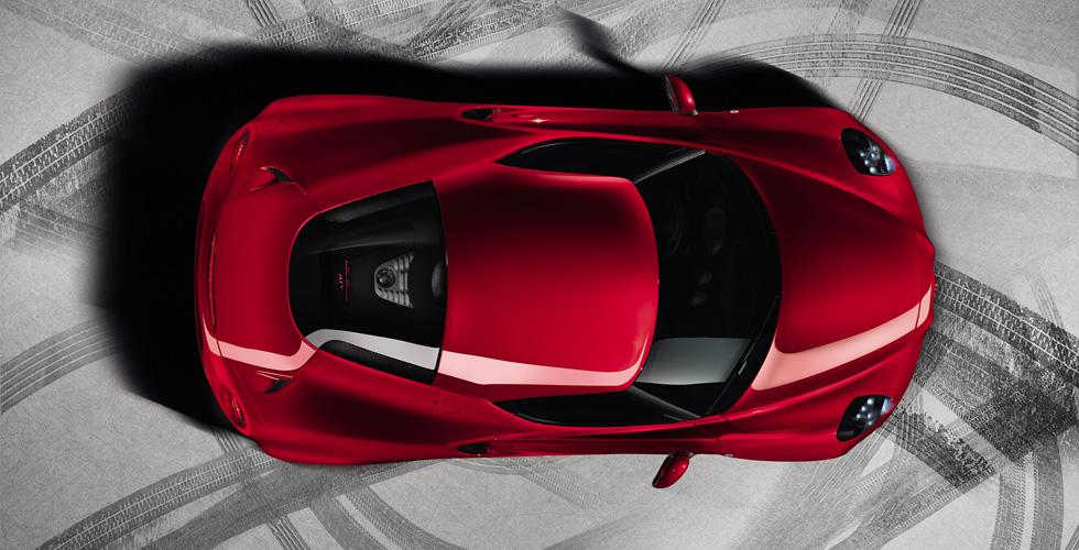 Nouveauté : Alfa Romeo 4C