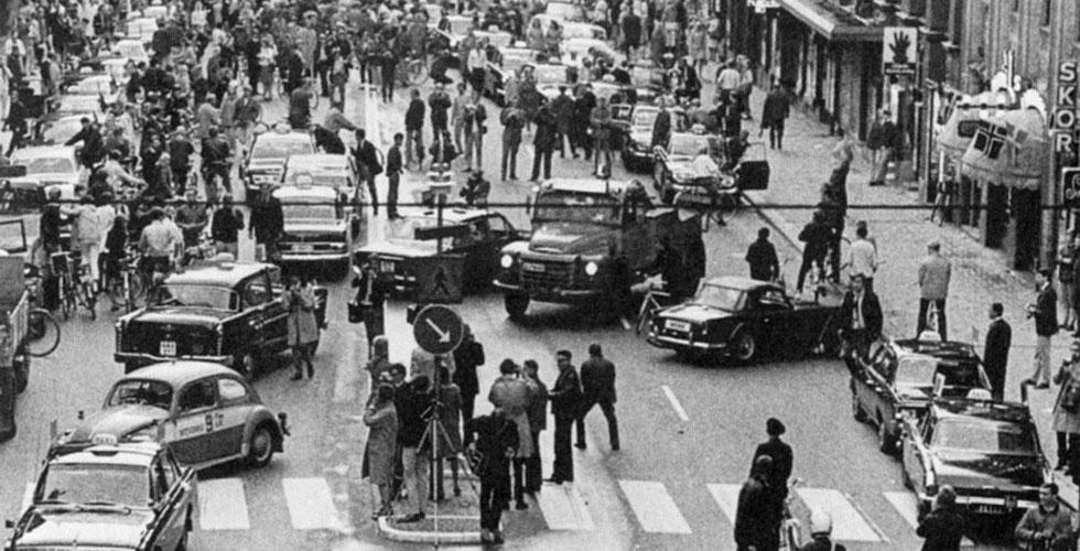 Histoire : La Suède passe à droite