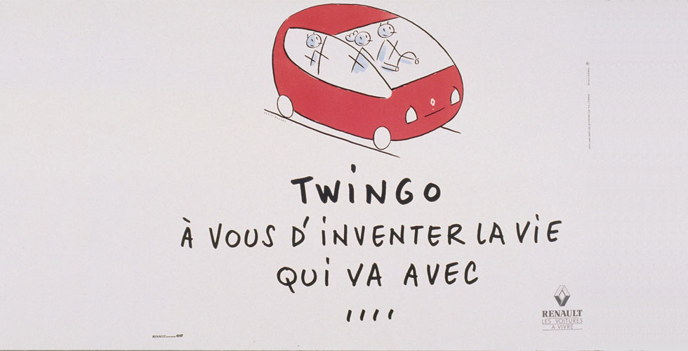 Publicité : Renault Twingo