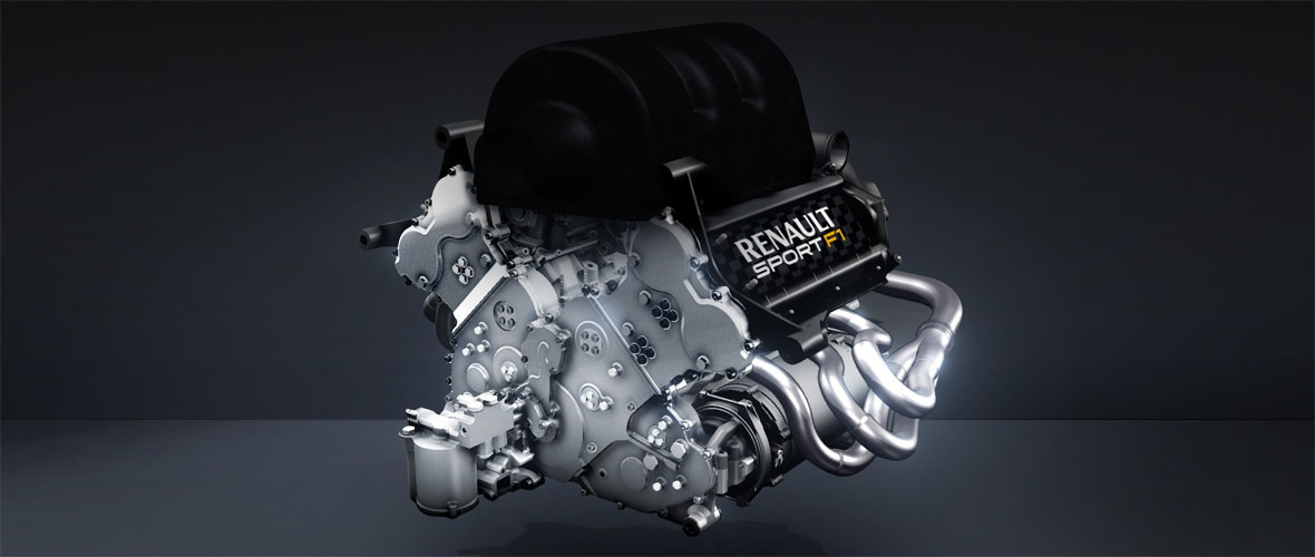 Renault Sport F1 montre son V6 1,6 litre version 2014