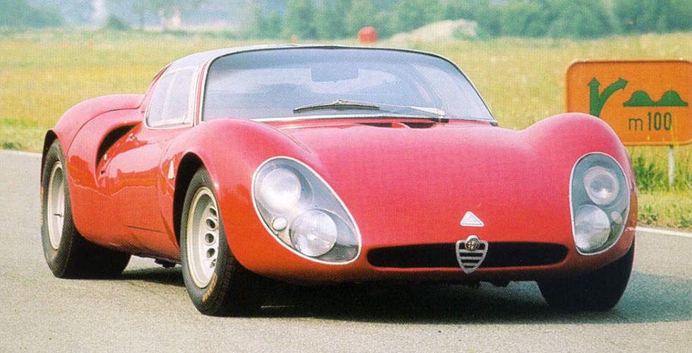 Histoire : Alfa Romeo 33 Stradale