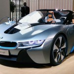 Rencontre : BMW i3 Concept Coupé et i8 Concept Spyder