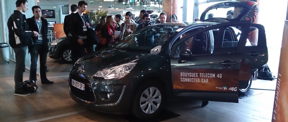 Bouygues Telecom présente sa voiture « 4G »