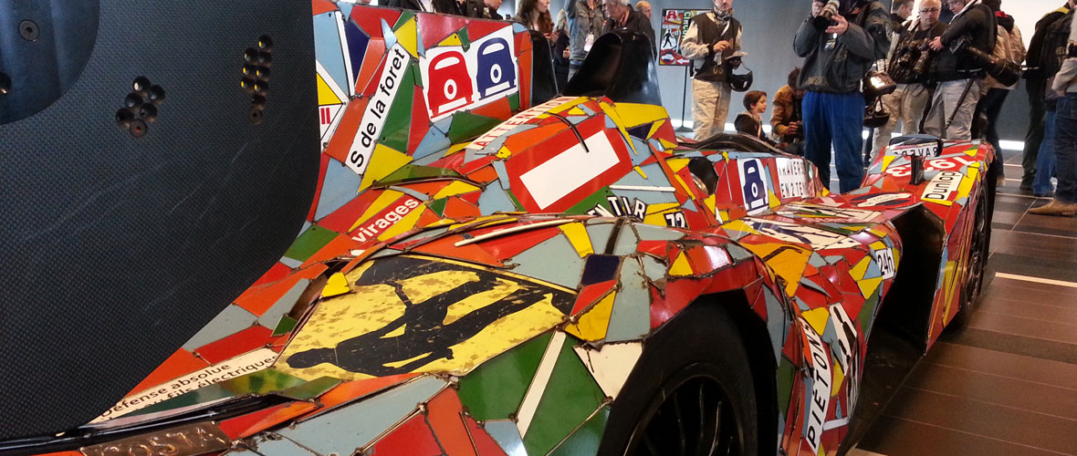 Rencontre : l'Art Car version OAK Racing