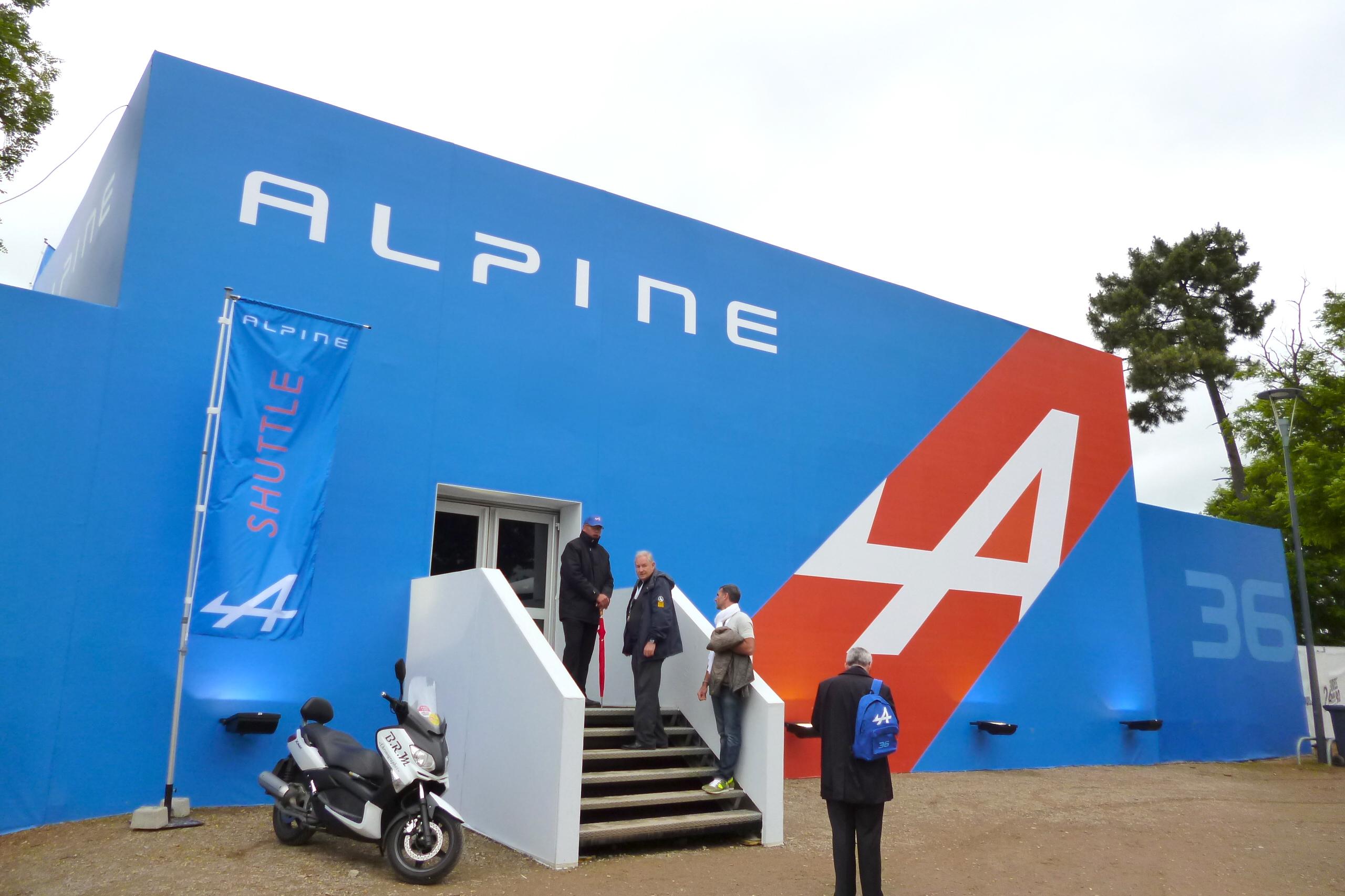 Alpine de retour au Mans avant le Grand Tourisme