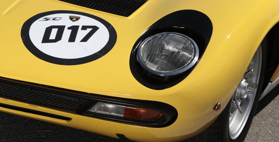 Commissaire-priseur : Lamborghini Miura SV