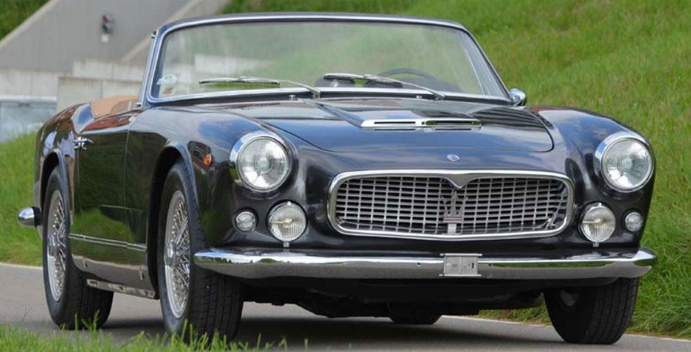 Commissaire-priseur : Maserati 3500 GTI Cabriolet