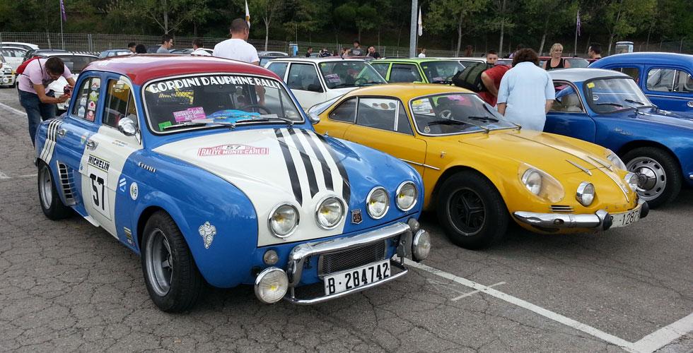 La parade Renault Sport sur le Circuit de Barcelona-Catalunya