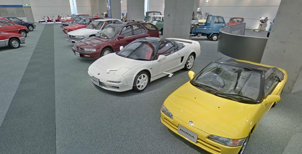 Visitez le Honda Collection Hall grâce à Street View