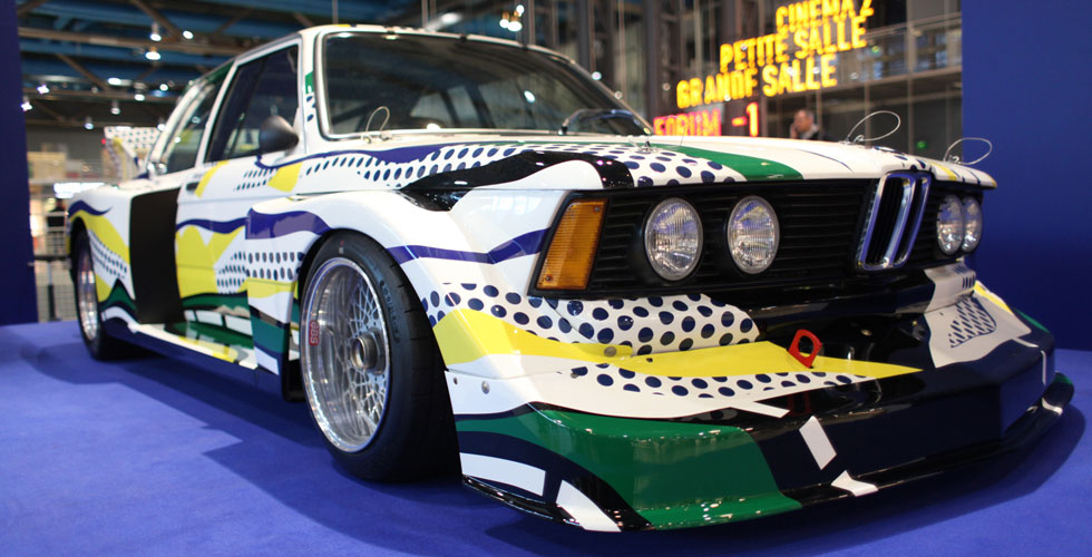 La BMW 320i de Roy Lichtenstein à Paris