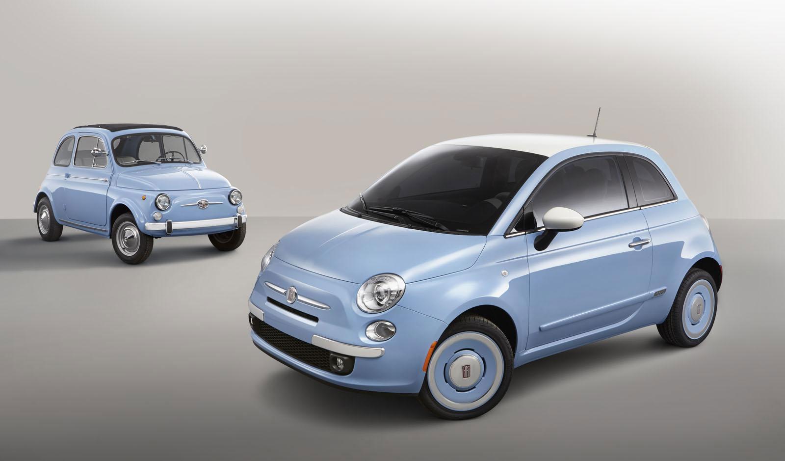 FIAT suit Volkswagen dans les années 50