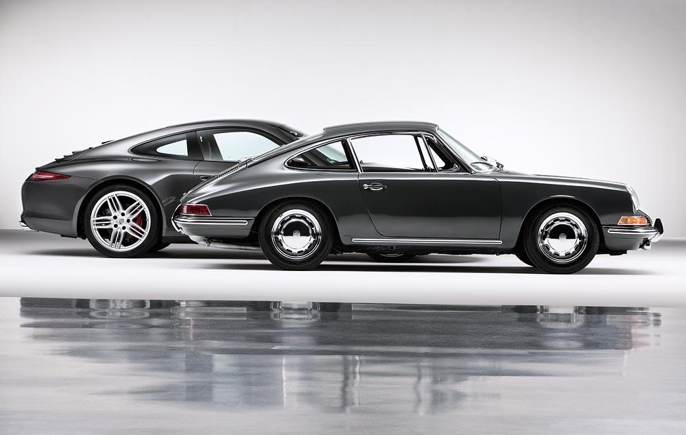 Infographie : 50 ans de Porsche 911