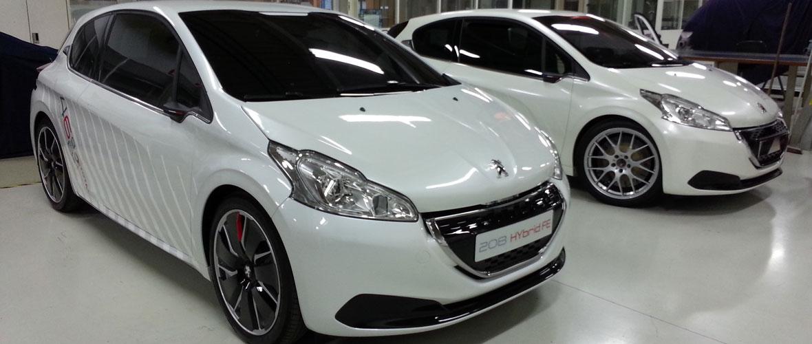 Rencontre : Peugeot 208 HYbrid FE