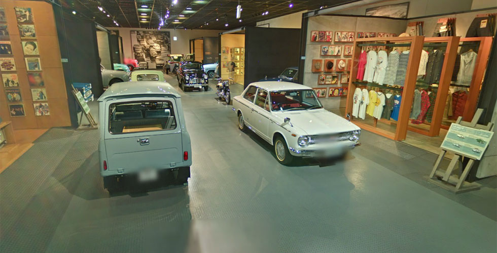 Visitez le Toyota Automobile Museum grâce à Street View