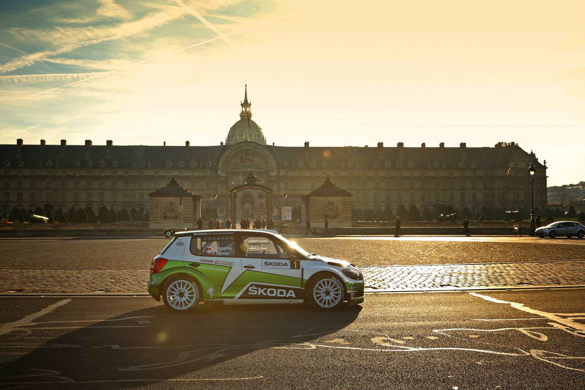 Škoda Motorsport in Paris
