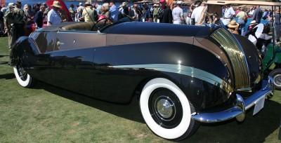 Rolls-Royce Phantom III Labourdette Vutotal Cabriolet 1939