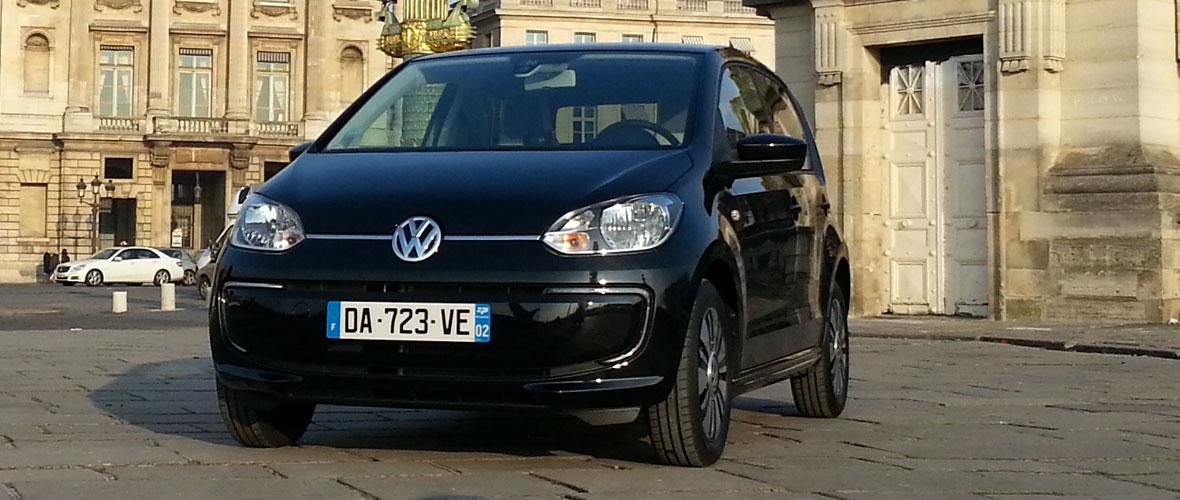 Essai Volkswagen e-up! : Voltswagen
