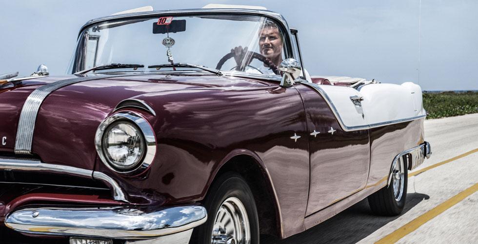 Photos : Le road-trip de David Coulthard à Cuba