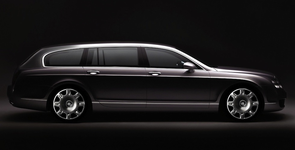 Bentley Continental Flying Spur Wagon : le faux parfait