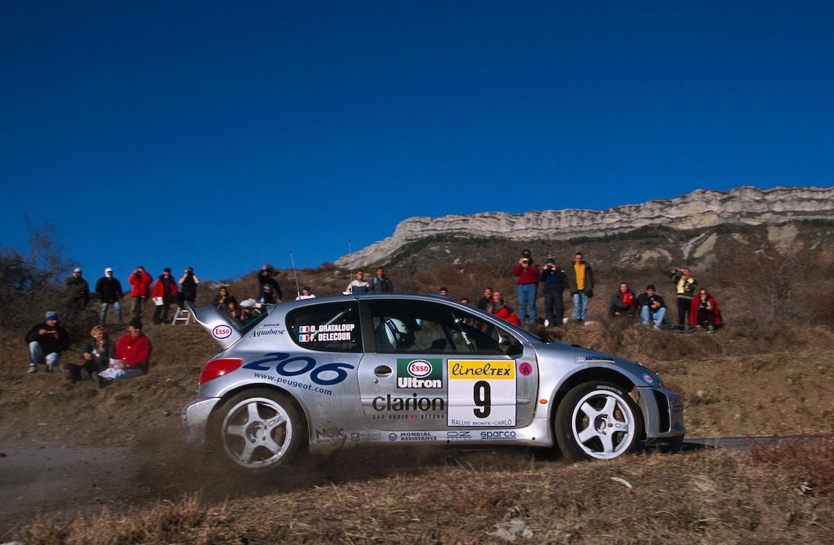 Rallye Monte-Carlo 2000 : la Peugeot 206 WRC avait pris froid