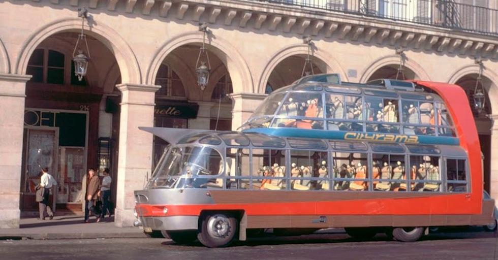 L'étrange bus Currus Citroën U55 Cityrama