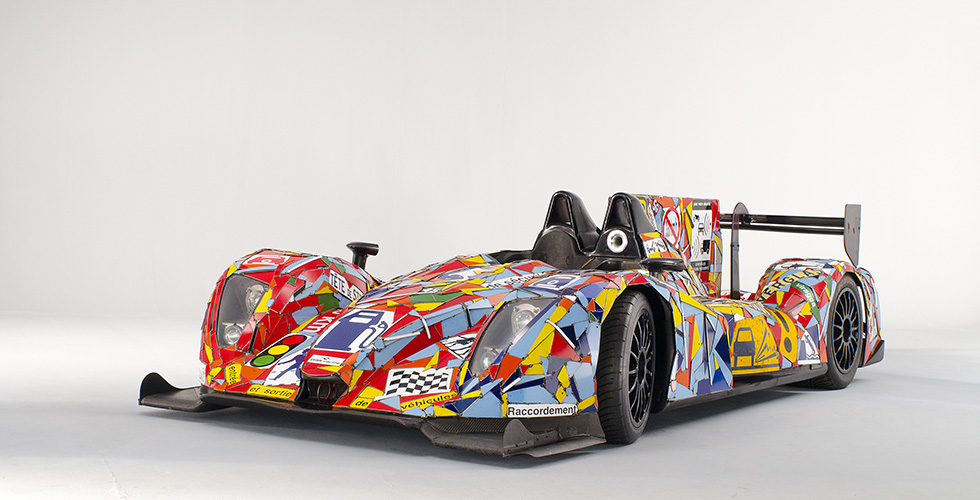 L'Art Car OAK Racing Costa s'expose à Paris