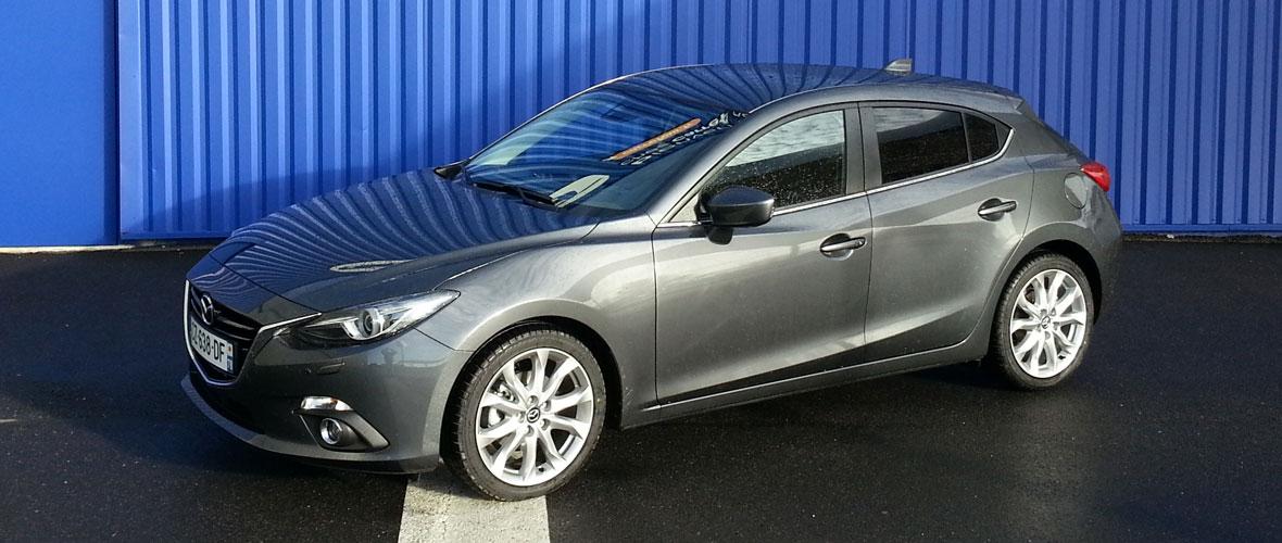 Essai Mazda3 : la force en mouvement