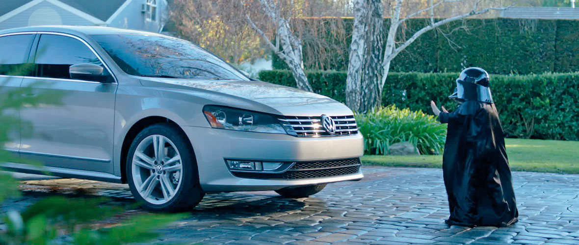 Pub Super Bowl : Volkswagen The Force