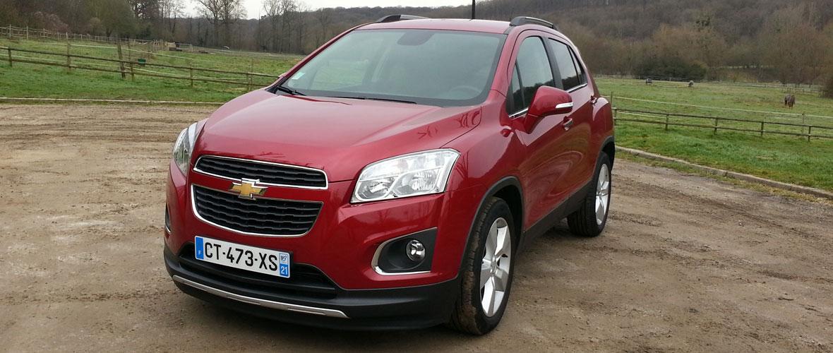 Essai Chevrolet Trax : A saisir