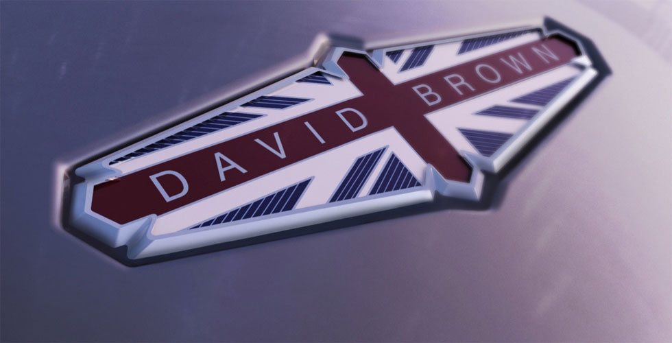 David Brown Automotive : le projet parfait !