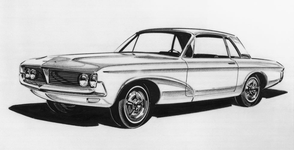 Dessin Ford Mustang Autocult Fr