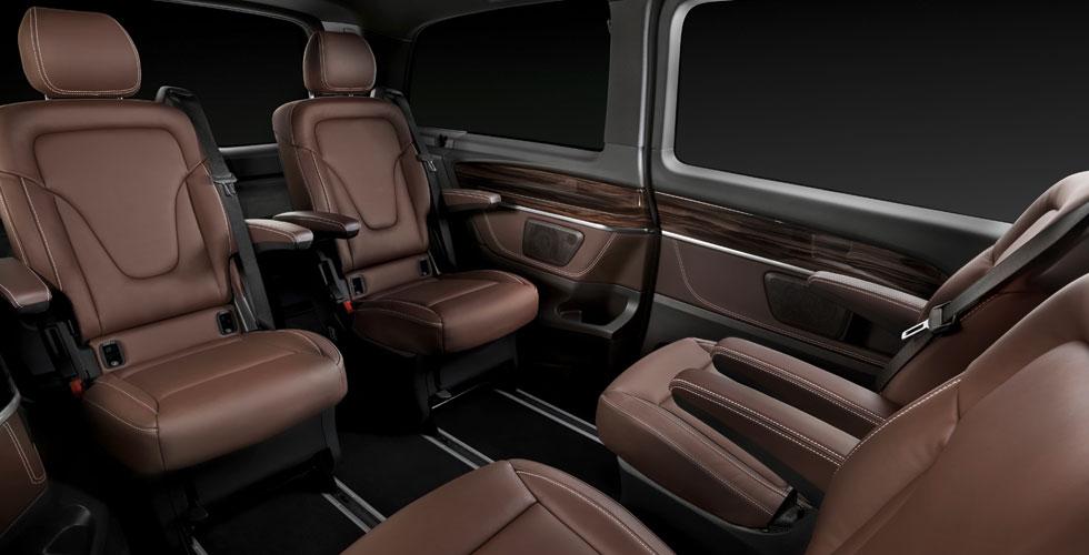 Mercedes classe v interieur for Interieur mercedes classe a