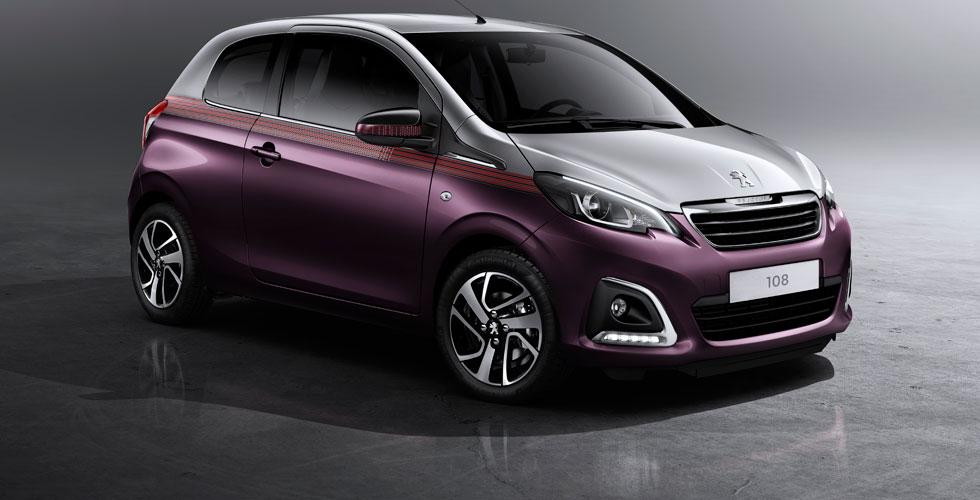 Nouveauté : Peugeot 108