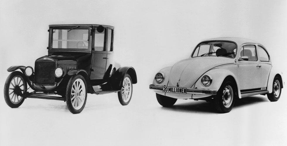 La Volkswagen Beetle mieux que la Ford T