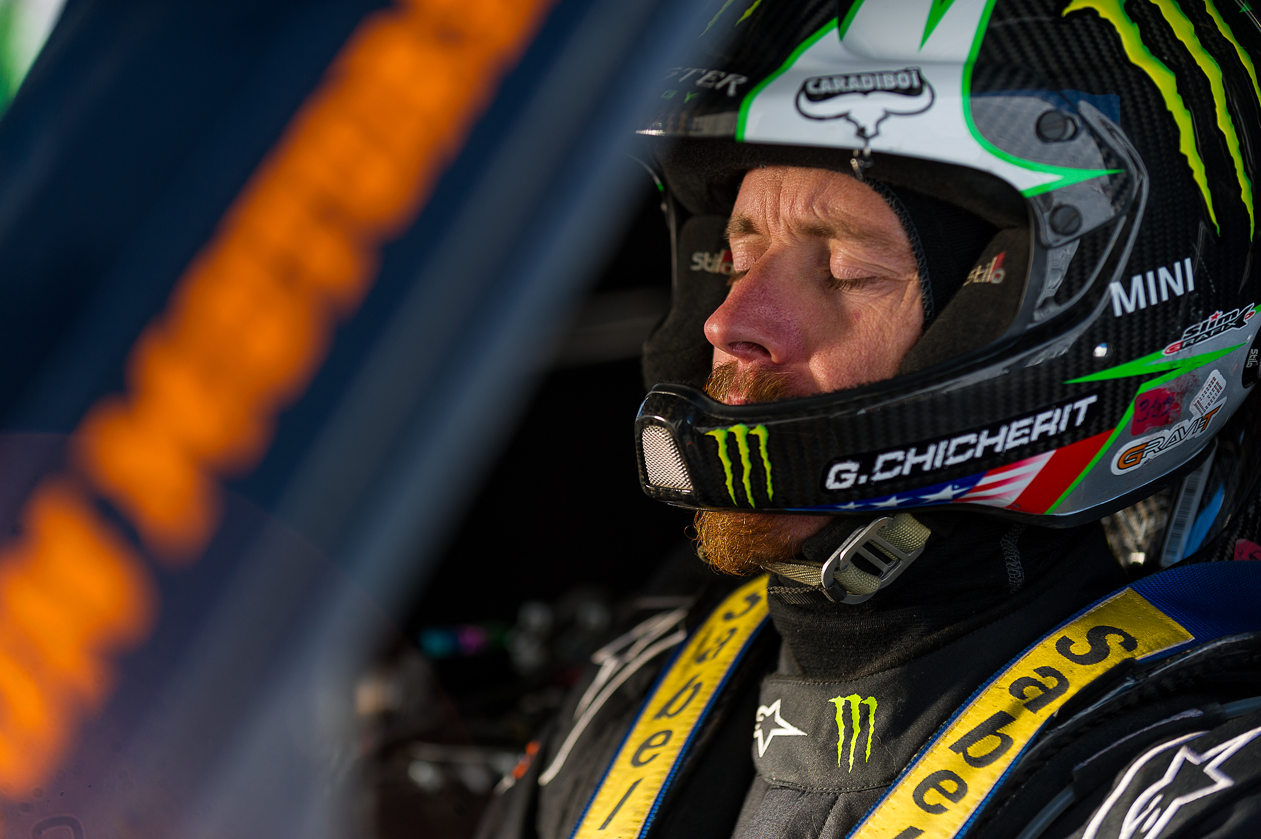 Guerlain Chicherit, MINI et Monster Energy s'attaquent à la tentative du plus long saut du monde
