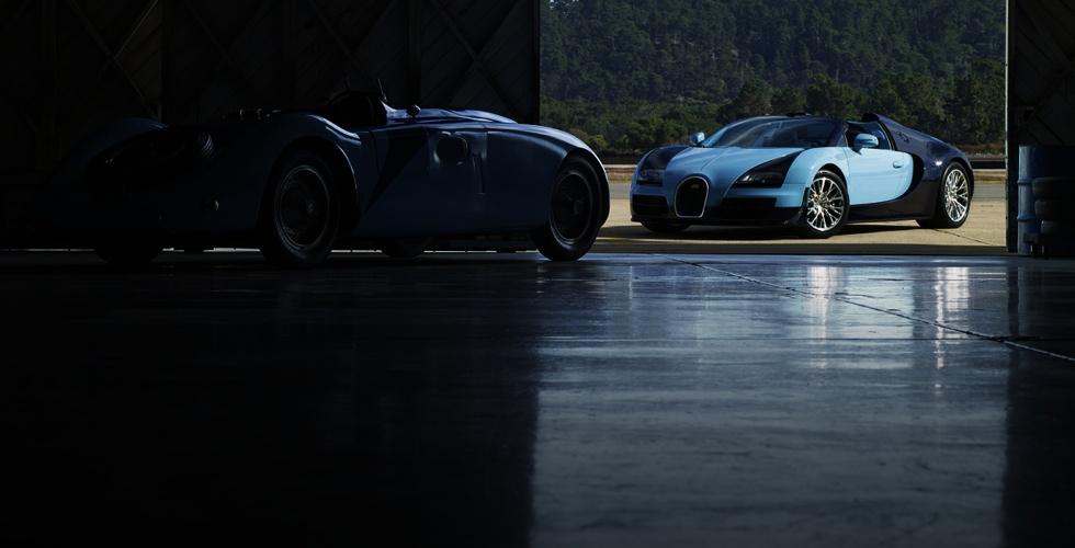 Les légendes Bugatti