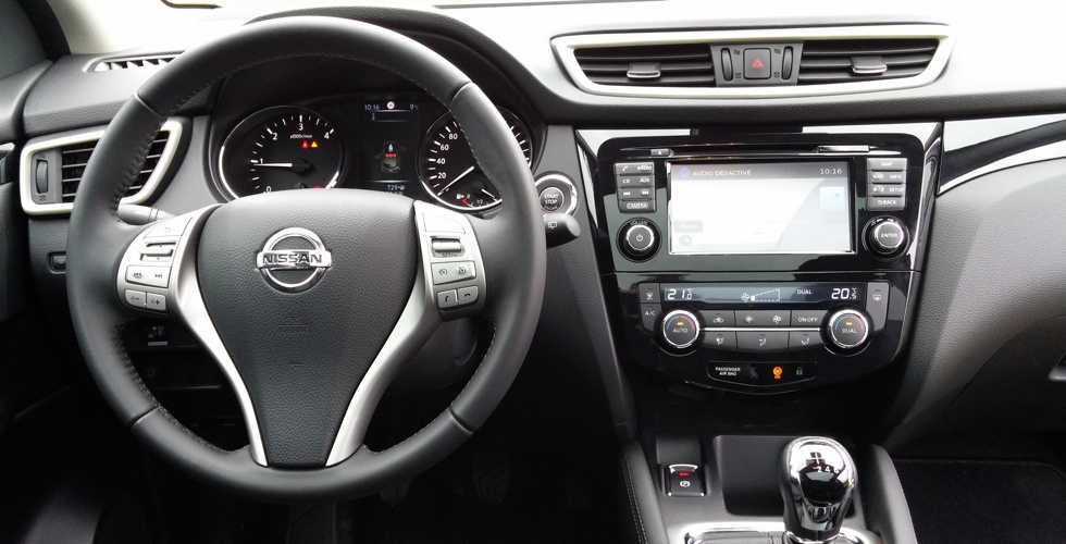 Nissan qashqai photo interieur for Interieur qashqai 2015
