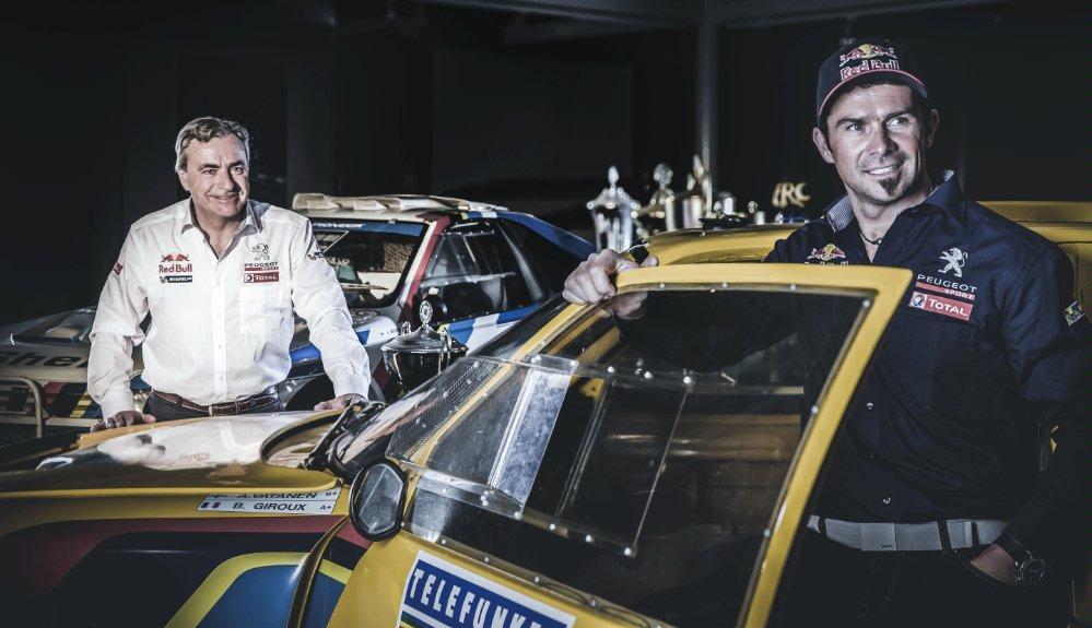 Peugeot revient au Dakar avec Carlos Sainz et Cyril Despres