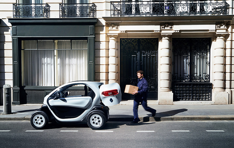 Renault Twizy Cargo : on y charge quoi ?