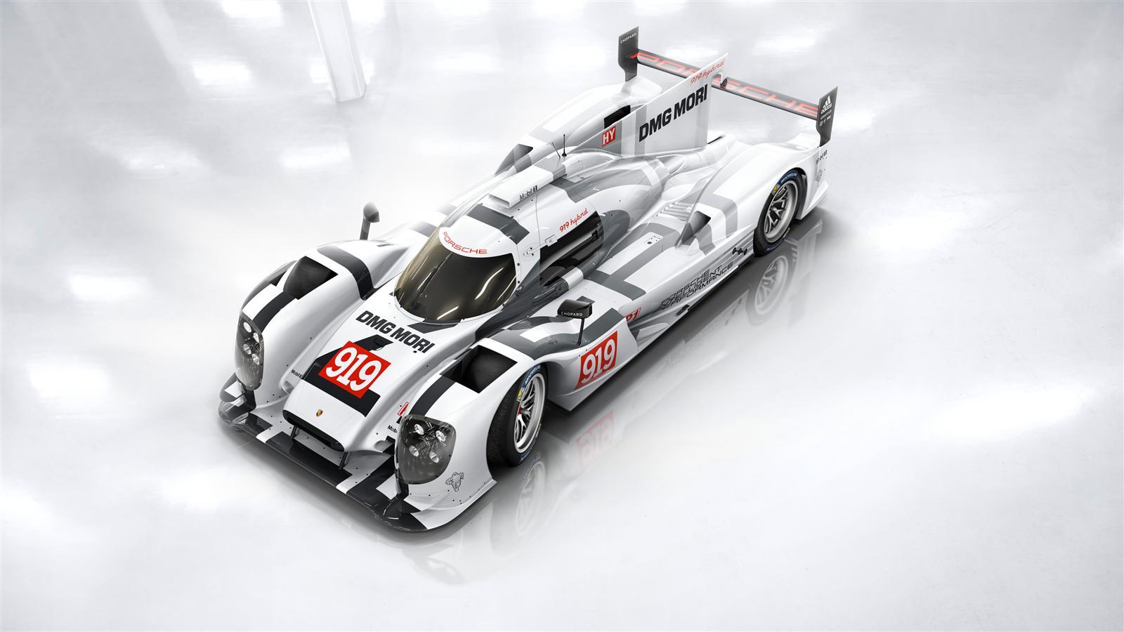 Salon de Genève : Porsche révèle sa 919 Hybrid. Martini en grand absent.