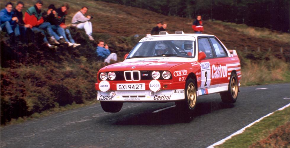BMW M3 / Manx Rally 1988 / Patrick Snijers