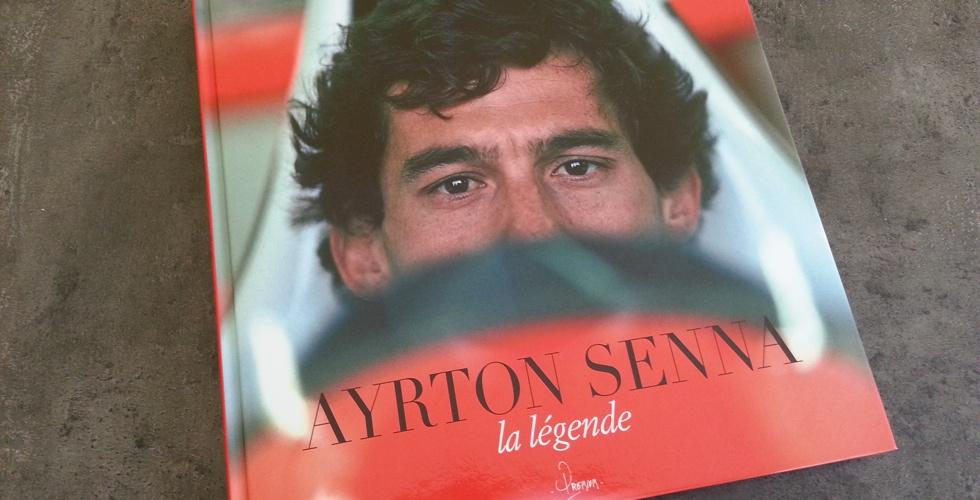 Livre : Ayrton Senna la légende