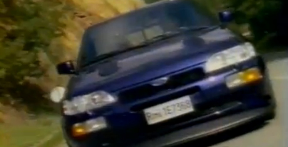 Publicité : Ford Escort Cosworth